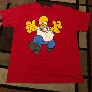 Vintage Homer Simpson tee